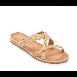 NIB Dolce Vita Nevi Boho Strap Woven Sandal Sz 6.5